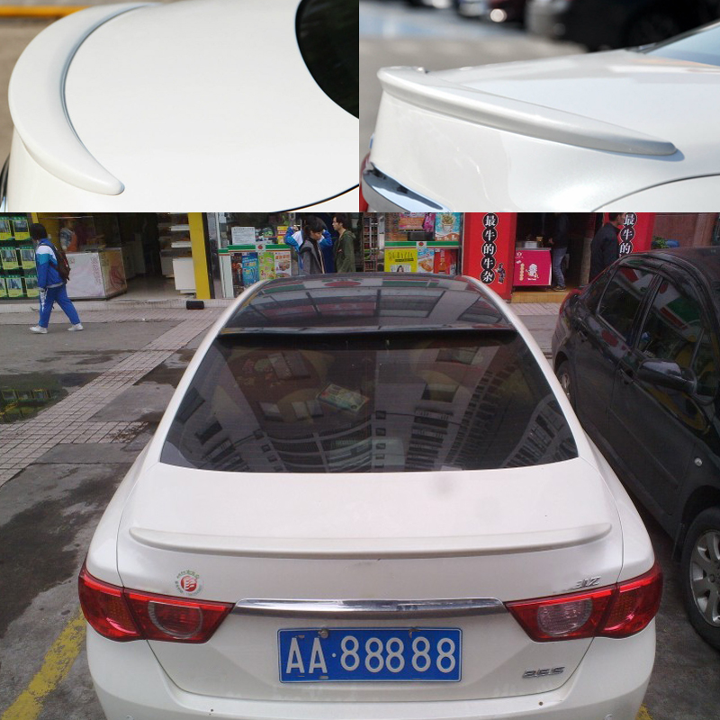 Car Styling Rear Trunk Spoiler ABS Material For Toyota MARK X 2011 2012 2013 2014 2015 Without The Paint Car Spoiler Accessories car rear trunk security shield shade cargo cover for nissan qashqai 2008 2009 2010 2011 2012 2013 black beige