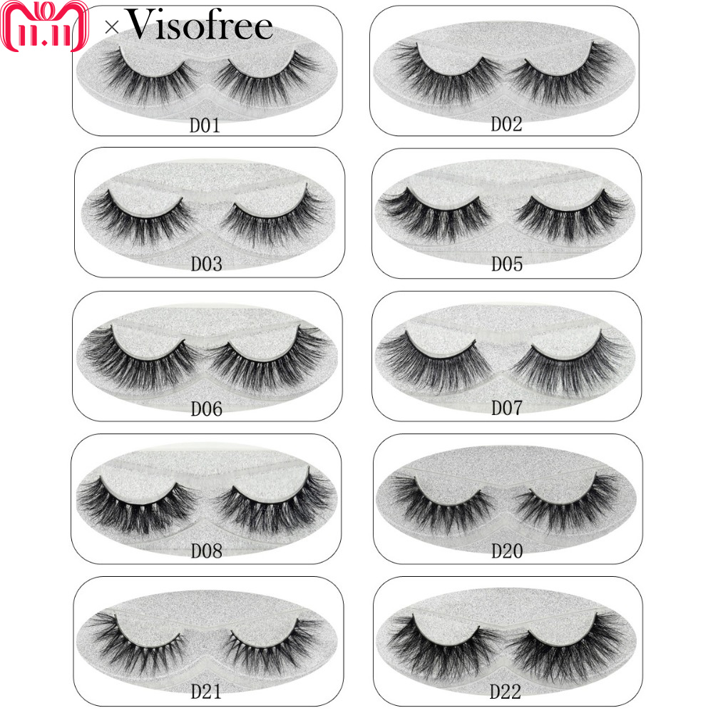 Lash Mink Eyelashes 3D Mink Hair Lashes Wholesale 100% Real Mink Fur Handmade Crossing Lashes Thick Lash 11 Styles New 1Pair mink keer 2 4xl