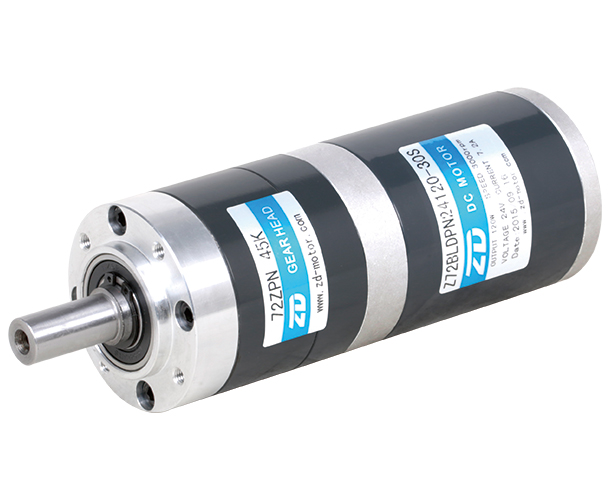 120W 24V DC Brushless Planetary Gear Motor 24V Low Noise Smooth Operation Gearbox, Motor Reducer (Z72BLDP24120-30S/72ZPN 45K) gear dc motor planetary reduction gearbox ratio 4 1 nema 23 120w brushless dc motor 24v bldc motor