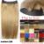 #18 Grueso Cabeza Llena 1 unidades head set completo Flip en el Cabello Humano Brasileño de la Virgen de remy extensiones del pelo humano extensión