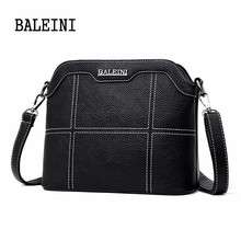 цена на Genuine Leather Female shoulder bag Soft Leather luxury handbags women bags designer crossbody bags for women Messenger Bags