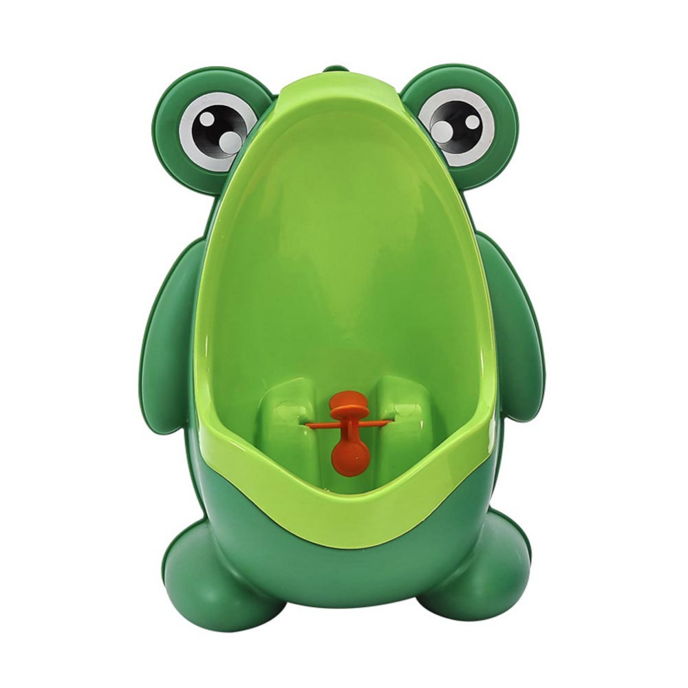 Children's Potty Baby Boy Potty Toilet Trainer Wall-Mounted Frog Kids Stand Vertical Urinal Pee Infant  Potty Urinal For Babies