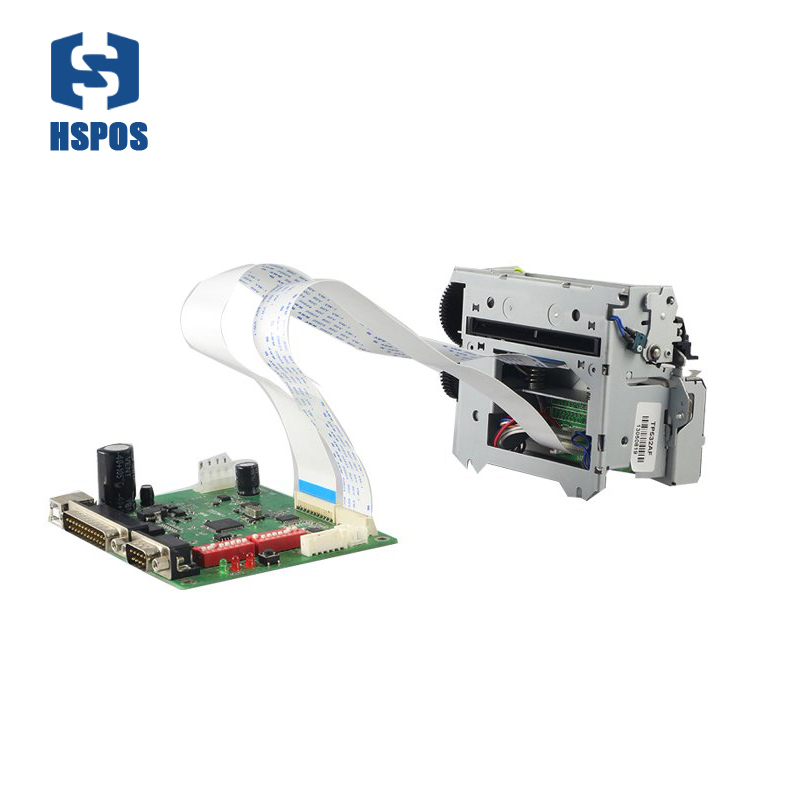 New 80mm embedded thermal receipt printer USB Serial and Parallel interface 24V voltage support hotel bill print gp u80300iv integrated thermal receipt printer serial usb 100m ethernat parallel usb interface compatible with esc pos emulation