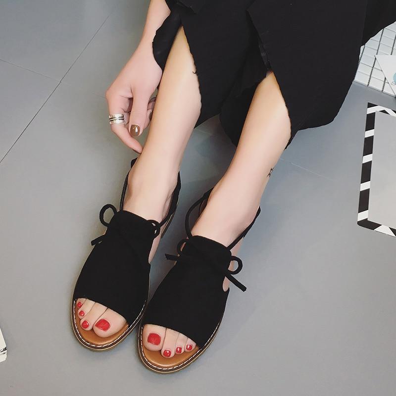 Summer shoes woman Hot Selling sandals women 2017 peep-toe flat Shoes Roman sandals Women sandals sandalias mujer sandalias women shoes summer women sandals 2017 peep toe gold silver roman sandals shoes platform brand creepers woman sandalias size 43