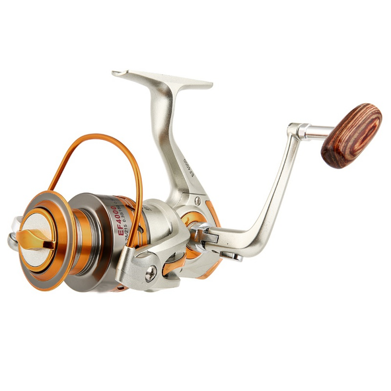 Nuova Bobina di Pesca del Metallo Rocker Bobina di Aggiornamento Filiera Bobine di Pesca Molluschi di Filatura Spiaggia Giochi per la Pesca