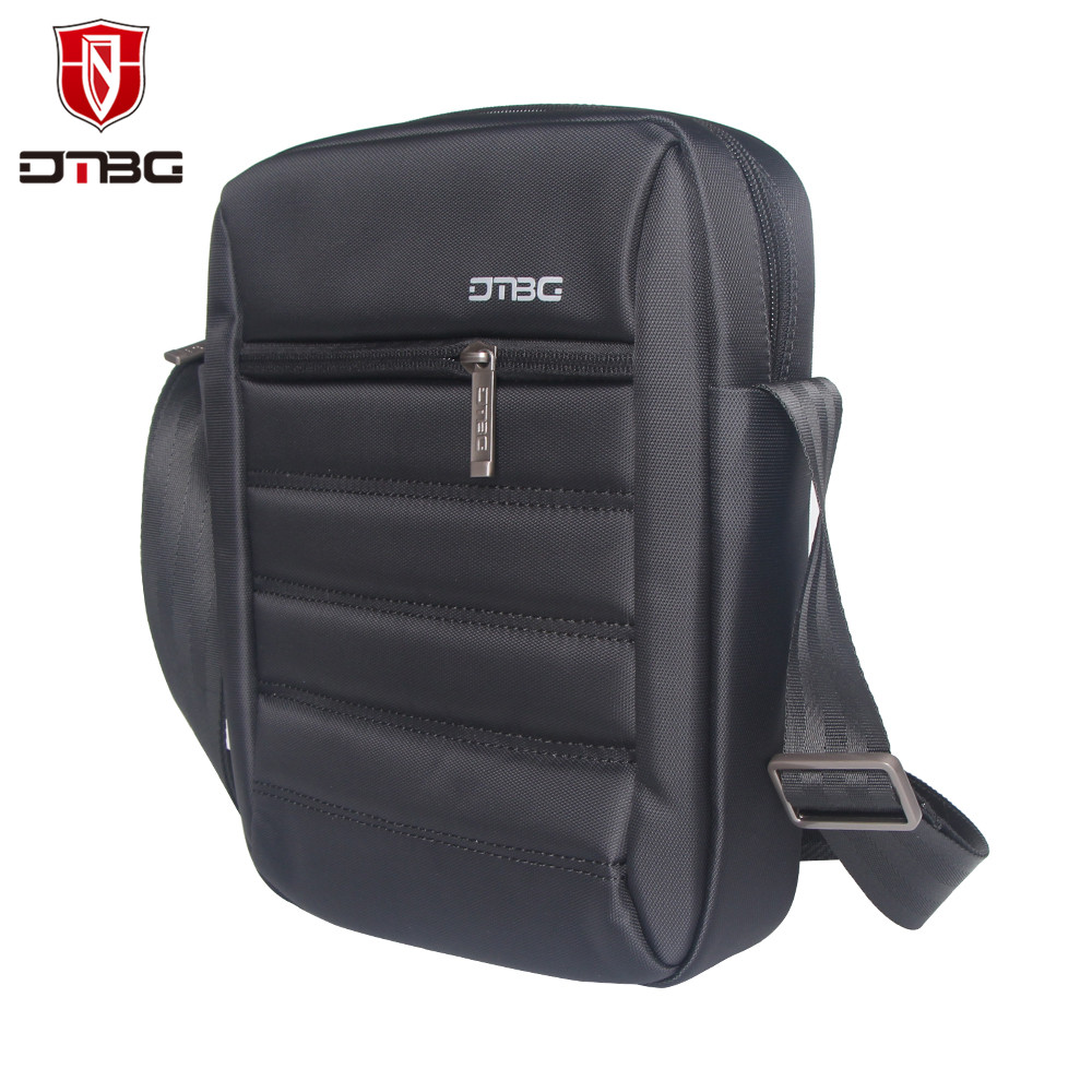 Fashion Design Nylon Men Shoulder Bags 9 7 Inch Black Casual Business Messenger Bag Crossbody Ipad