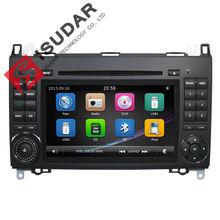 2 Din 7 Zoll Auto-DVD-Spieler Für Mercedes/Benz/Sprinter/W209/W169/W245/Viano/Vito/B-klasse/B150/B170/B200/A160/A180 FM GPS Radio