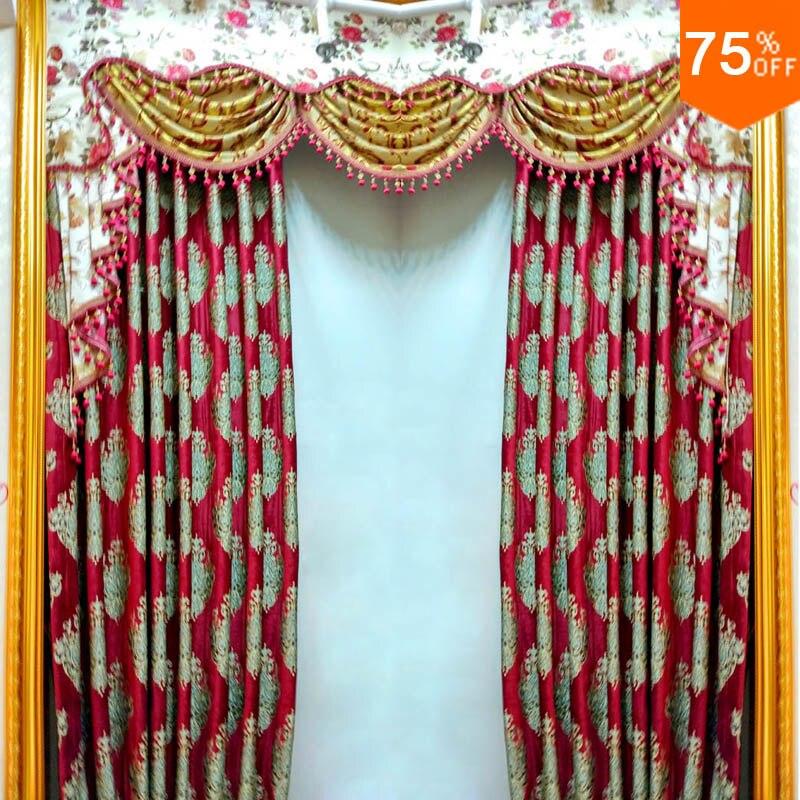 hotel de lujo roja puerta de entrada sala de cortinas black out tintos cortinas de