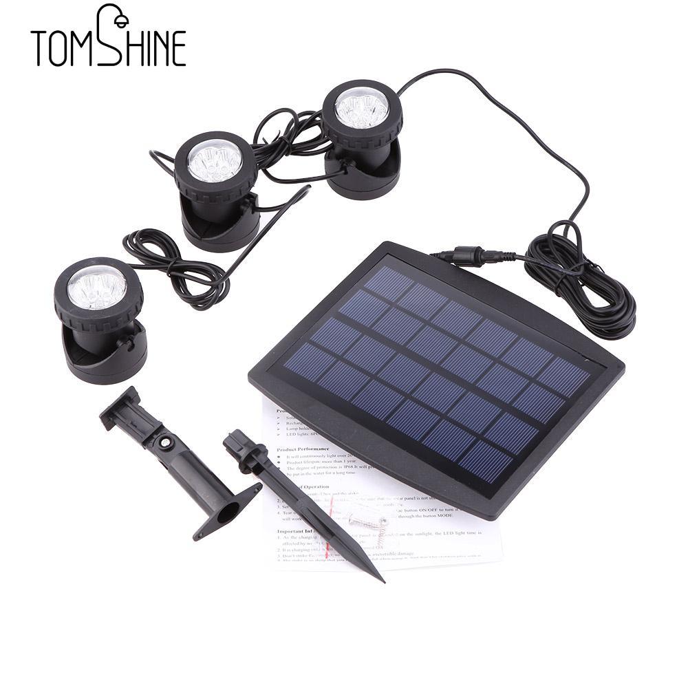 Solar Powered Lawn Lights