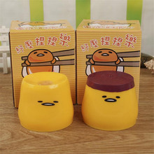 new arrive children s gag toys Egg yolk vent pudding creative outlet toys new style