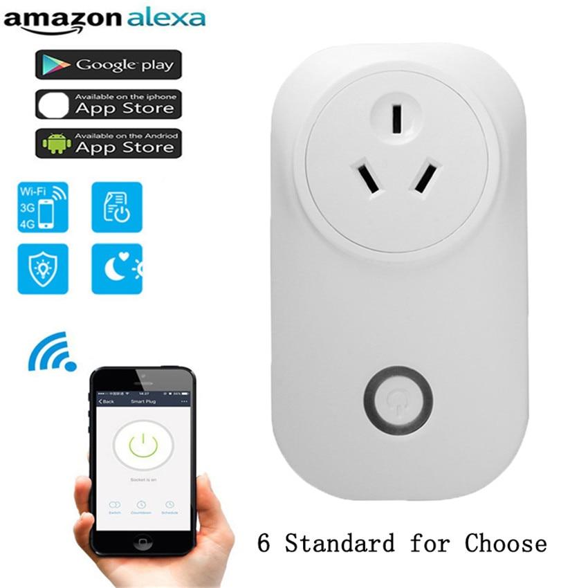 TIANJIE Timer plug EU WiFi power socket plug outlet,smart s