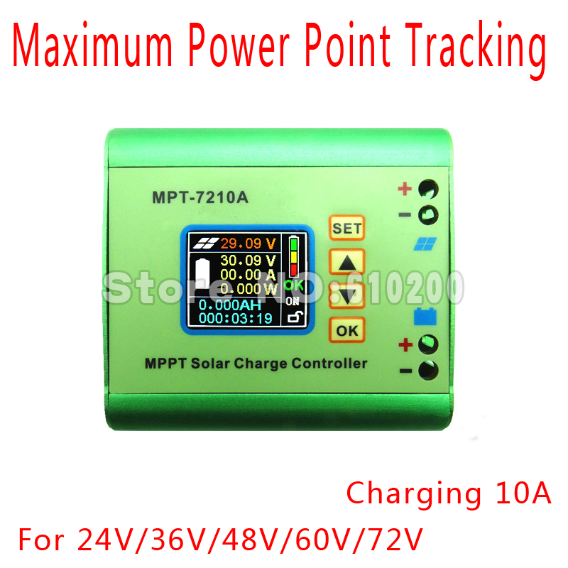 DC-DC MPPT Solar controller/Solar Charge Controller For batteries and lithium battery charge management. 24V 36V 48V 60V 72V/10A 60a solar charge controller 12 24v 36v 48 60v com rs232 with pc
