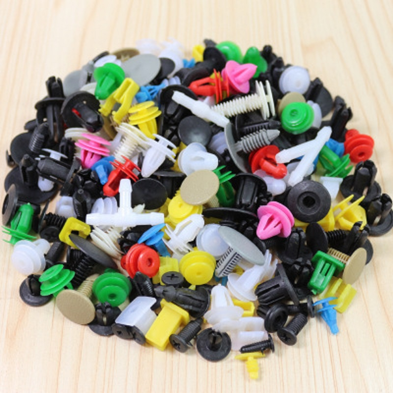 CHIZIYO 500pcs Mixed variety Universal Auto Clip Vehicle Door Fastener Buckle font b Car b font