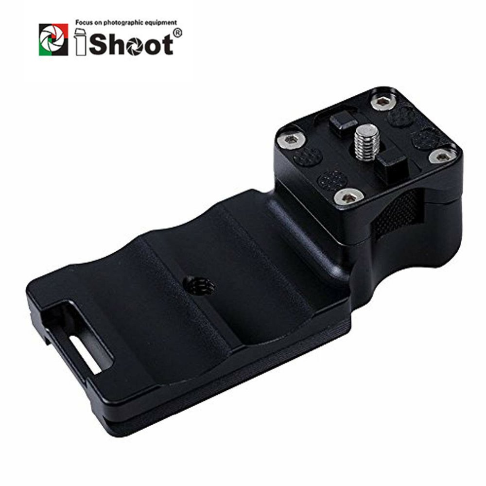 iShoot Lens Collar Foot with Quick Release Plate for Canon EF 100 400mm f/4.5 5.6L IS II USM Tripod Mount Ring Arca Swiss RRS