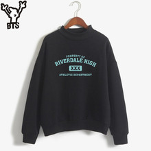 KPOP Riverdale Women/men Hoodies Sweatshirts Fashion Hooded  Long Sleeve Sweatshirt Casual Clothing south side serpents custom