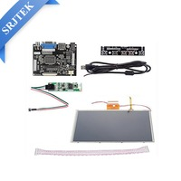 Srjtek 9 Inch For AT090TN10 HDMI VGA Digital LCD Driver Board With Touch Screen For Raspberry