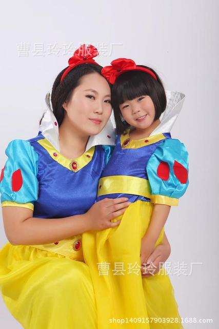 Children's Snow White snowwhite outfits mother daughter