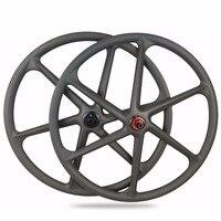 2018 New 6 SPoke Mountain Bicycle Wheelset 29er Full Carbon Wheels Light Weight MTB Bike Wheelset