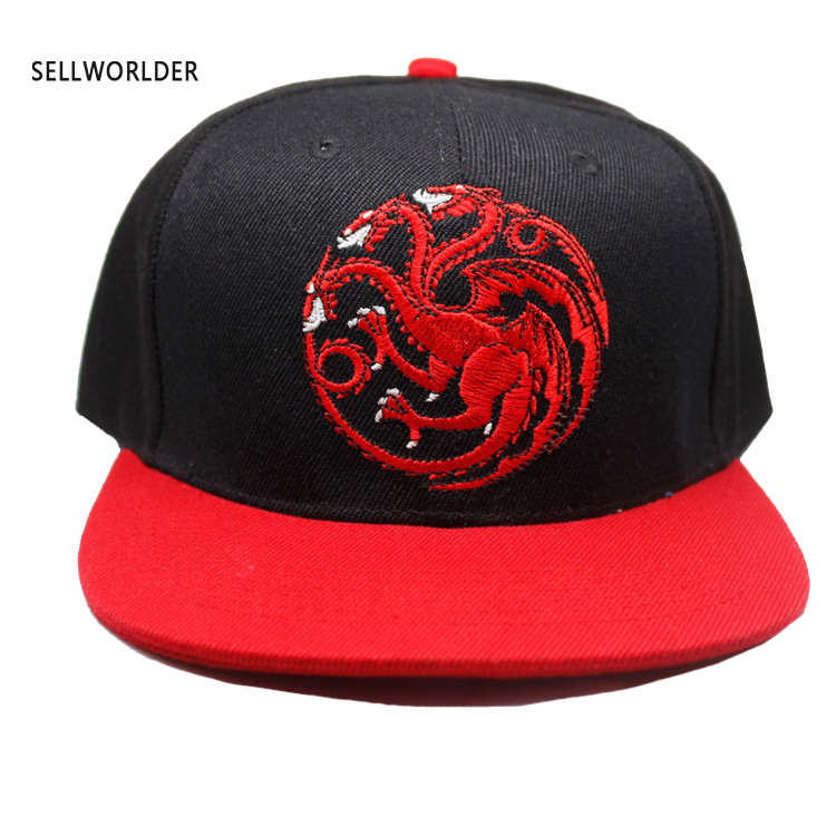 Baseball-Caps Thrones Wolf Dragon Printed Stark Tangerian Adult Casual Hip-Hop of Lannister