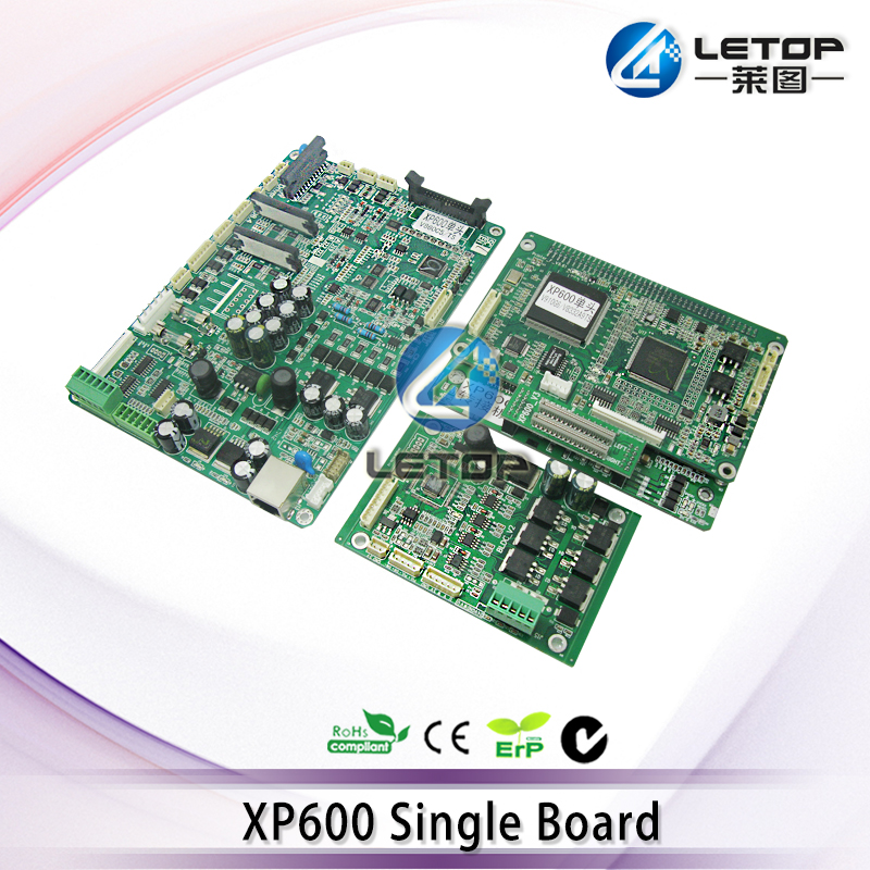 dx10/dx11/xp600 printhead mainboard headboard driverboard for xp600 eco solvent printer Upgrade affordable price 1 6m xp600 head eco solvent digital printer entry level large format vinyl banner poster printing machine