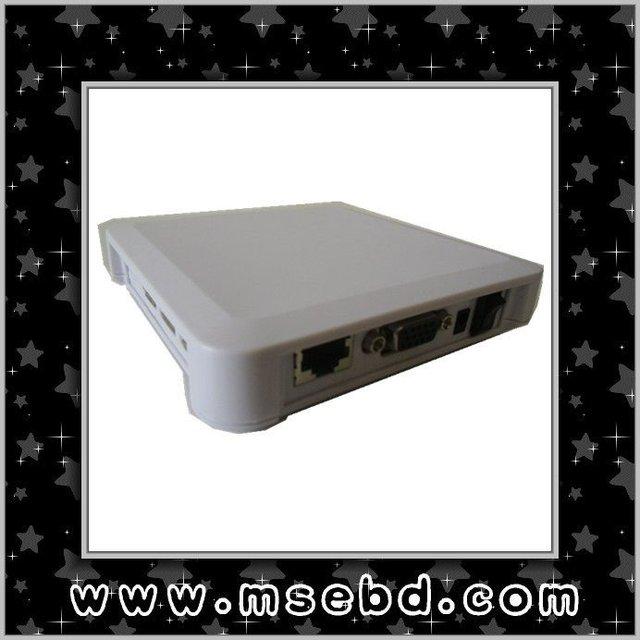 Network PC Termianl Thin Client With RAM 128M FLASH 2GB CPU 800HZ Built-in Win CE 6.0
