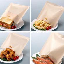 Высокотемпературный антипригарный многоразовый тефлоновый пакет для приготовления пищи, микроволновая печь для сэндвичей, выпечки тостов, жареного сыра