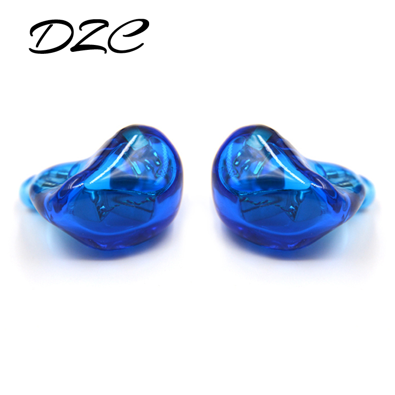 bilder für 2017 neue NiceHCK Kundenspezifische DZC 3BA In Ohr Kopfhörer Drei Antriebseinheit DIY HIFI Überwachung Kopfhörer Mit MMCX Schnittstelle Mit kabel