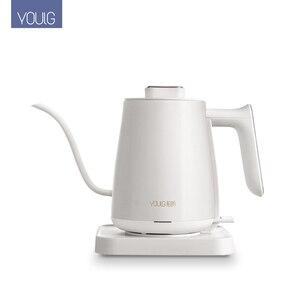 Image 2 - YOULG מים קומקום חשמלי קפה סיר חימום בקרת טמפרטורה אוטומטי כבוי הגנה Wired קומקום 220V