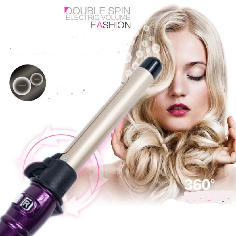 professional ionic auto rotary electric har curler hairdressing styling curling iron roller wand automatic rotating salon wave elchim фен 3900 ionic 2400w 5 цветов фен 3900 ionic 2400w 5 цветов 1 шт черный золото