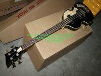 Toptan Keman Bas gitar Yeni Varış siyah 4 Strings Keman Bas Yüksek Kalite En Ücretsiz Kargo
