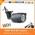 Wi fi cámara de 1.3mp 960 p bala cámara ip inalámbrica al aire libre de vigilancia motion detección impermeable webcam cmos freeshipping caliente de la venta