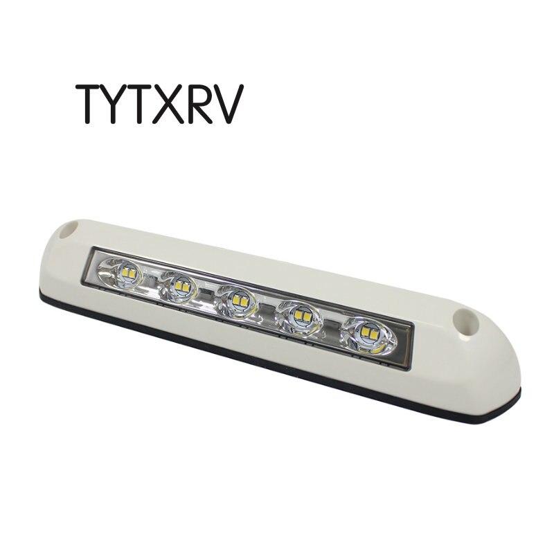 12V/24V RV LED Awning Porch Light Waterproof Motorhome Caravan Interior Wall Lamps Light Bar RV Van Camper Trailer Exterior Lamp|RV Parts & Accessories| |  - title=