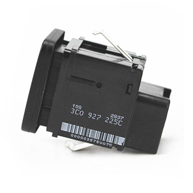 Universal Car Parking Switch EPB Electronic Handbrake Parking Brake Button Switch Replacement for VW Volkswagen Passat B6 C6 CC