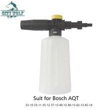 City Wolf lavadora de alta presión 750ML de espuma para nieve lance bosch AQT33 10 33 35 37 11 13 40 12 40 42 13 45 14 coche lavadora