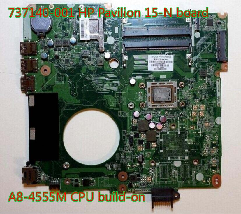 737140-501 737140-001 for HP Pavilion15-N Series laptop motherboard DA0U92MB6D0 100% Tested 734826 001 laptop notebook motherboard system board 734826 501 for hp pavilion touchsmart 15 15 n a4 5000m series 100% tested