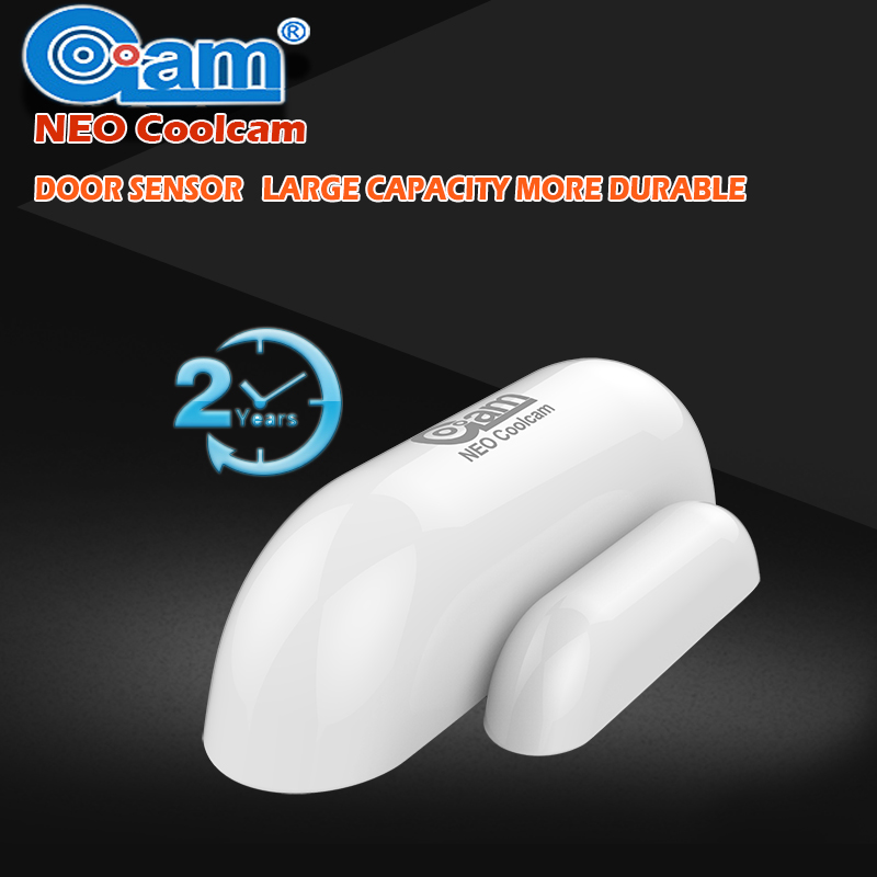 NEO COOLCAM Z-wave Wireless Door Window Sensor Compatible With 300 500 Series Magnet Lock Door Sensor Alarm Smart House Secur neo фамсоль 500 г