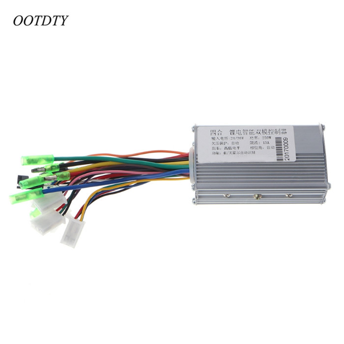 OOTDTY DC 24/36V <font><b>250W</b></font> Brushless Regulator Speed <font><b>Controller</b></font> Scooter E-bike Electric <font><b>Motor</b></font> image
