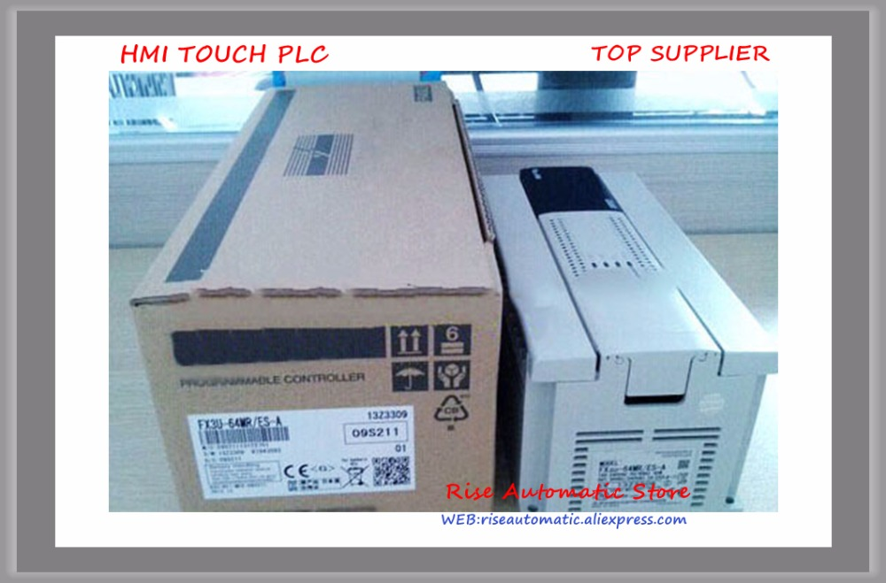 FX3U-64MR/ES-A PLC Main Unit DI 32 DO 32 Relay 100 to 240V AC New Original new original fx3u 80mt dss plc base unit