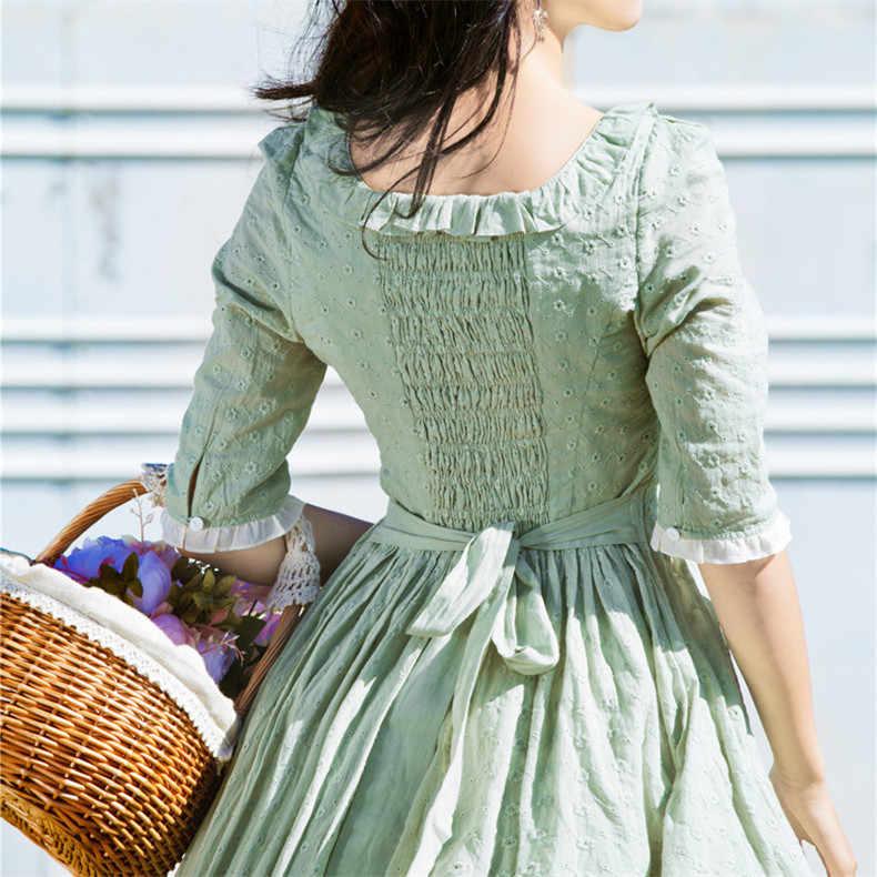 Nouveau haute qualité Explosions loisirs Vintage couleur correspondant robes femmes imprimer printemps tenue décontractée