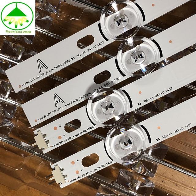 8 teile/satz 100% NEUE led hintergrundbeleuchtung streifen bar perfekte kompatibel für LG 39 Zoll TV 39LB561V 39LB5800 innotek DRT 3,0 39 inch A B