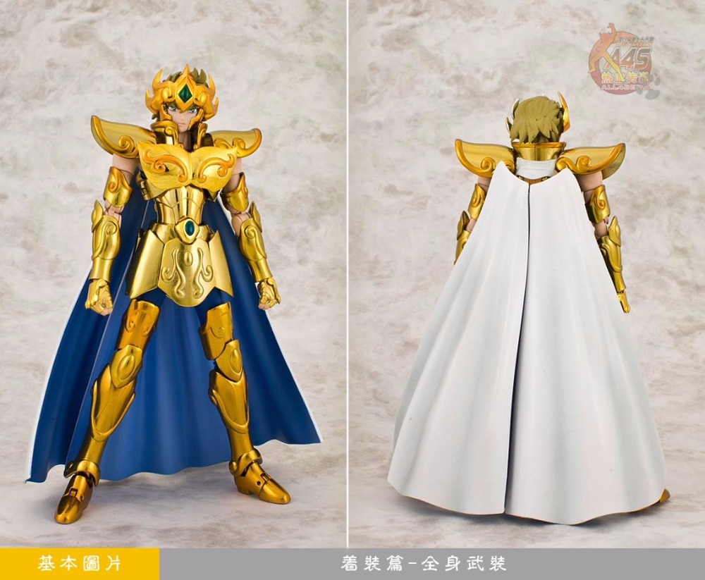 MC MODEL SAINT SEIYA Gold CLOTH MYTH EX Leo Aiolia Action Figure cavaleiros do zodiaco W25
