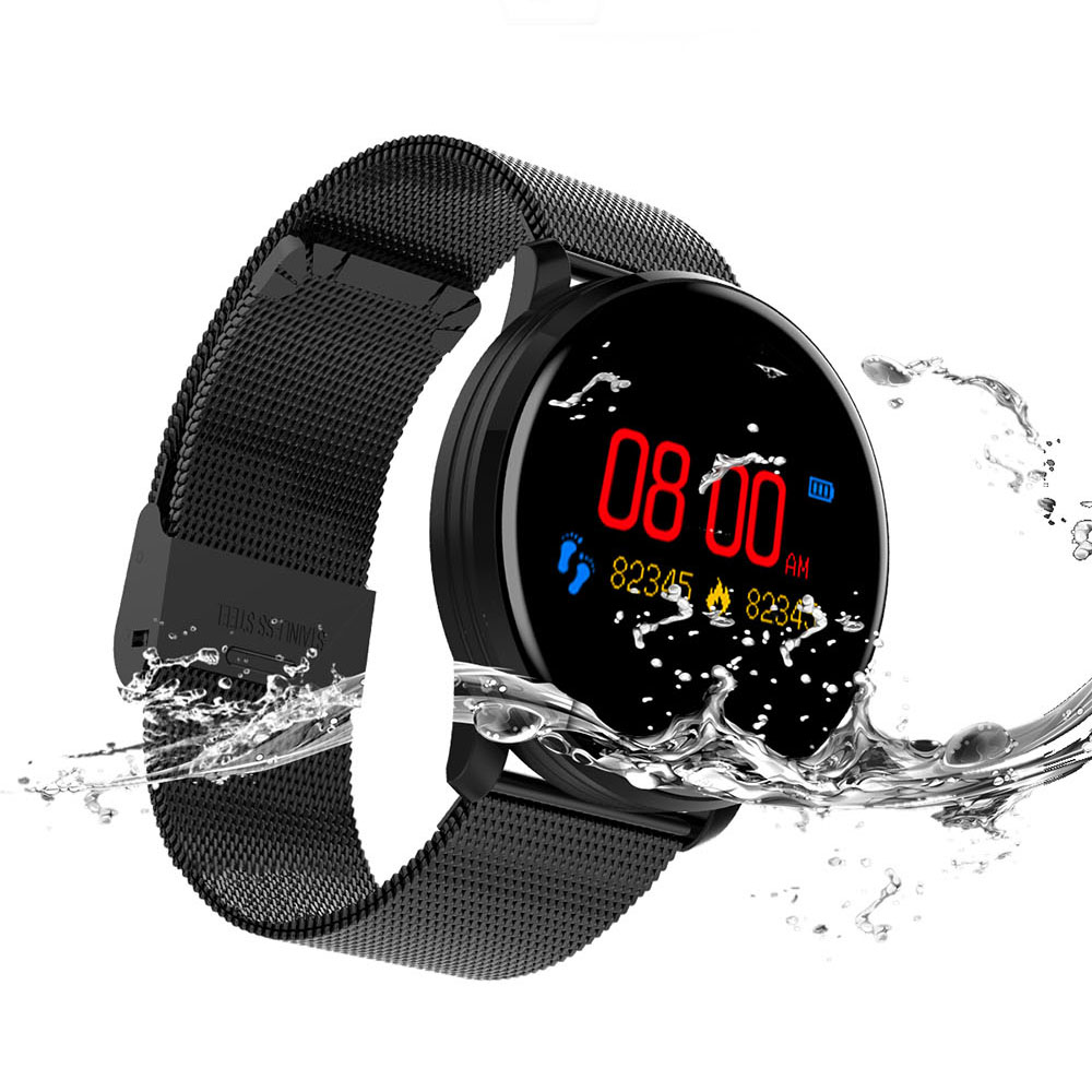 M9 Smart Watch 0.96 Fitness M9 Sport Tracker Women Men Waterpro of Bracelet Heart Rate Monitor Wristband for Android IOS