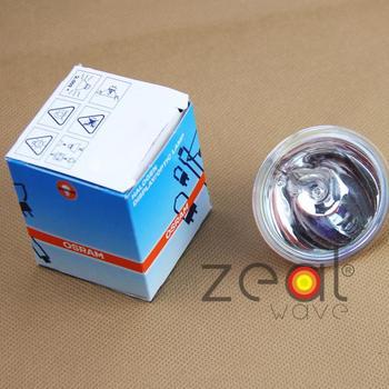 10pcs/Lot 12V100W Halogen Lamp Osram 64637,NAED 54223,EBV LIF A1/271,Microscope Lighting,12V100W GZ6.35 Reflector Long Life Bulb