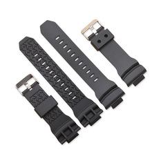 Silicone Rubber 16mm Watchband Band Men Diving Black Strap Replacement Wristwatch Belt Watch Accessories Loop все цены