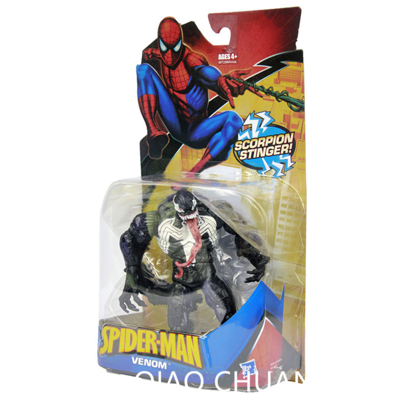 14CM Spider-Man:Homecoming The Avengers Tobey Maguire Spider-Man Spiderman Venom PVC Action Figure Collection Model Doll G57