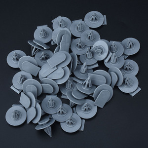 Image 5 - 20 Stuks Auto Fastener Clips Wielkast Clips Bevestigingsmiddelen Auto Plastic Klinknagels Voor Bmw Mini R50 R52 R53 R55 r56 R57 Cooper S D