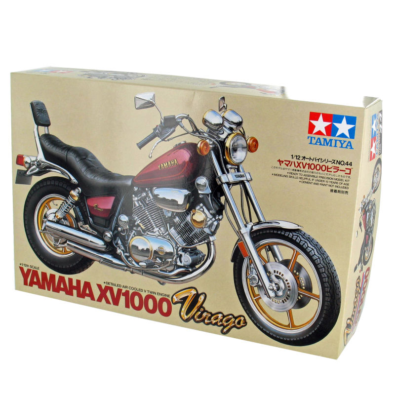Image 5 - 1/12 مقياس نموذج دراجة نارية الجمعية أطقم ياماها XV1000 Virago موتور بناء لتقوم بها بنفسك عدة طامية 14044-في مجموعات نماذج البناء من الألعاب والهوايات على AliExpress