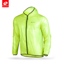 Nuckily Multifunctional rainwear Outdoor riding clothes waterproof ultraviolet-proof mtb bike cycling raincoat MJ003