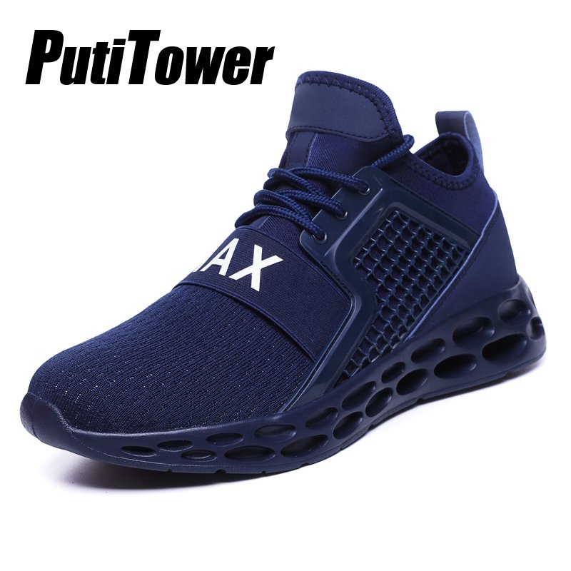Mens Running Shoes Breathable Sports Sneakers Casual Athletic Trainers Plus SZ