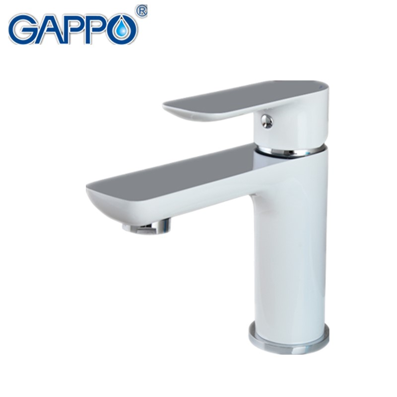 GAPPO new white brass bathroom basin faucet hot and cold water faucets mixer sink tap bath washbasin faucet vanity grifos G1048 автокресло группа 0 1 до 18 кг cybex sirona m2 i size цвет stardust black 517000939